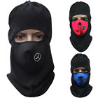 Ski Winter Full Face Mask Cover Hat Cap Motorcycle Thermal Fleece Balaclava Neck