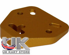 TonyKart / OTK Senzo Angled Steering Boss Wedge in Gold UK KART STORE