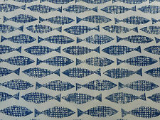 Harlequin/Scion Fabric 'Samaki' 1 METRE (100cm) Ink - Wabi Sabi 100% Cotton