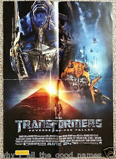 Movie Poster TRANSFORMERS - REVENGE OF THE FALLEN - A3 Village Cinema Release