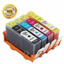 4pk New Generic 564XL Ink Cartridge for Photosmart 5510 6510 6520 7510 7520 7525