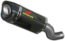 Carbon Fiber Cat Elim Slip On Exhaust Graves EXA-14RSV4-CETC for MC Apps.
