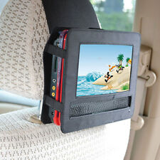 TFY  Car headrest mount holder with black strap for 7 portable DVD player