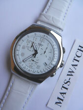 SWATCH + The Irony Chrono +yos439 your turn white + NUOVO/NEW