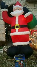 Giant 8' foot tall Inflatable AIRBLOWN blow up Huge Santa CLAUS YARD DECOR Gemmy
