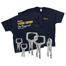 Irwin Vise-Grip Locking Clamp And Pliers Set, 5 Pc. Vsg544T New