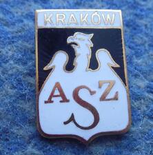 AZS KRAKOW POLAND BASKETBALL CLUB BIG GOLD VERSION ENAMEL PIN BADGE