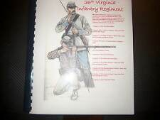 Civil War History of the 26th Virginia Infantry Regiment