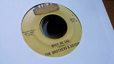The Brothers & Sisters 45 Make Me Sad/For Brothers Only Midas Northern Soul Funk