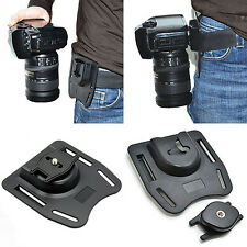 Capture Camera Waist Belt Holster Quick Strap Buckle Hanger for DSLR Digital