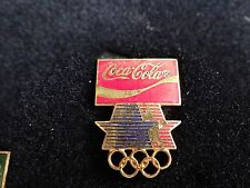 1984 LOS ANGELES COCA COLA SPONSOR OLYMPIC PIN