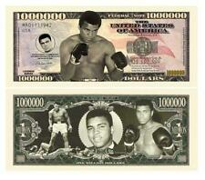 Muhammad Ali Novelty One Million Dollar Bill