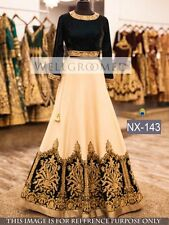 Bollywood Indian Lehenga Designer Party Wear Lengha Wedding White Lehenga Choli