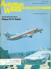 1985 Aviation Week & Space Technology Magazine: Pilatus PC-9/Embraer EMB-120