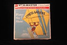 "Cypress Gardens ""Water Ski Show"" Viewmaster 1960's w/3 Reels  Booklet  EXCELLENT"