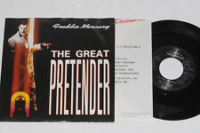 "FREDDY MERCURY -The Great Pretender- 7"" 45 mit Product Facts Promo-Flyer"