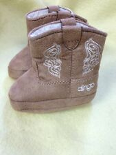 Infant Brown Dingo Boot Size 1 Baby Toddler Slipper