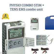 PHYSIO COMBO STIM+ Tens MACHINE 2 in 1 unit Tens  and Muscle stim