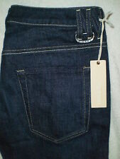 Diesel Straight Leg Womens Looppy Stretch Denim Blue Jeans Size 30 X 34 New $176