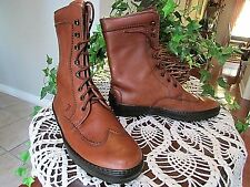 Tod's Vintage Leather Lace-Up Ankle Boots Women cassetta sole-Sz 37 US7-Italy-NW