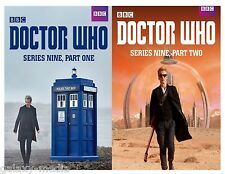Doctor Who Complete Series Season Nine 9 Part 1-2 (DVD 2016 4-Disc)  New Sealed