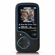 AGPtek 8GB Bluetooth MP3 Music Player C05-8GB Sync to Playlist with Media Go NEW