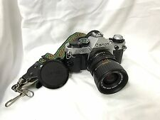 Canon AE-1 Program Manual Camera w/ Canon Zoom Lens Excellent Condition