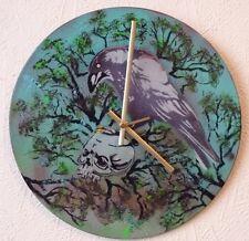 HEAVENS BASEMENT inspired clock.NIRVANA.BAND OF SKULLS.THE DOORS.GLASTONBURY