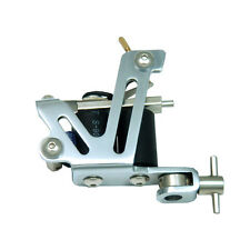Stainless Steel PROFESSIONAL TATTOO MACHINE for power supply pedal & clip cord