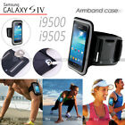 BLACK Running GYM Armband Case For Samsung Galaxy S4 S IV i9500 i9505