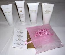 Mary Kay Satin Hands Pampering Set: Cleansing Gel, Buffing, Hand, & Night Cream.
