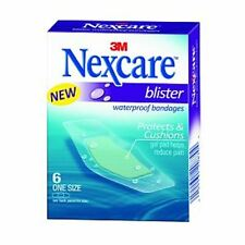 Nexcare Blister Waterproof Bandages, One Size 6 ea