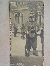 Vecchia foto d epoca fotografia antica GUARDIA FANTE REGIO ESERCITO ITALIANO di