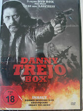 Danny Trejo Sammlung 3 Filme - Zombie auf Alcatraz - Ghostquake - Shoot the Hero