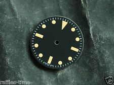 Sterile Sub Watch Dial for ETA 2836 / 2824 Movement Milsub Orange Lume T   25
