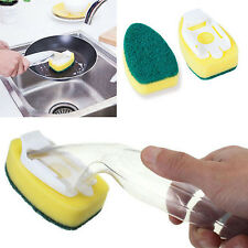 CHIC Kitchen Brush Refill Liquid Soap Dispenser Cleaning Scrubber Washing Dish