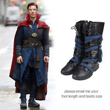 Doctor Strange Cosplay Shoes Stephen Steve Vincent Strange Cosplay Long Boots