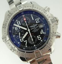Breitling Skyland Avenger Automatic Chronograph Black Dial Steel A13380