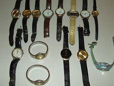 Vintage Lot of 14  Ladies Ladies Watches Wristwatches