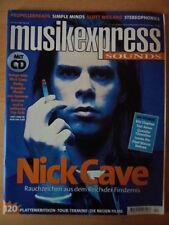 MUSIKEXPRESS 4/1998 * Nick Cave Eric Clapton Tori Amos Tarantino James Iha