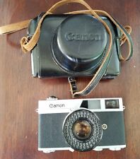 Vintage Canon Canonet QL17 35mm Rangefinder Film Camera with 1.7 lens & case