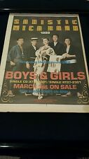 Sadistic Mika Band Boys & Girls Rare Original U.K. Promo Poster Ad Framed!