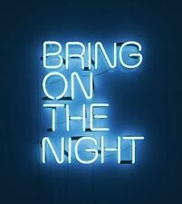 "BRING ON THE NIGHT Home Wall Lamp Beer Bar Club NFL Poster Neon Light Sign 9""x7"""