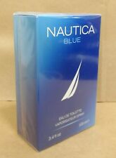 NAUTICA BLUE 'Cologne Men' Perfume 3.4oz/100ml Eau de Toilette 'NEW SEALED BOX'