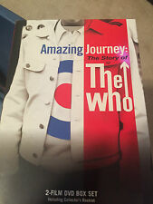 Amazing Journey: The Story of The Who (DVD, 2007) GREAT SHAPE 2 FILM BOXSET