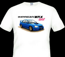 2004  SUBARU  WRX  STi  IMPREZA     WHITE T-SHIRT MEN'S  LADIES  KID'S  SIZES