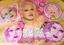 "MADONNA BEDTIME STORIES 12"" LP PICTURE DISC POCHETTE ET  POSTER LIMITED 300"