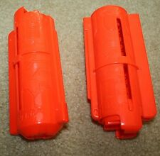 Lot of 2 Nerf Gun Vortex 10 Disc Orange/Red Magazine clips Pyragon Praxis Nitron