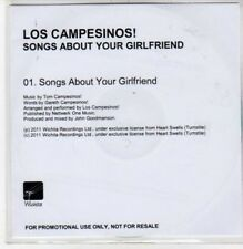 (DC106) Los Campesinos!, Songs About Your Girlfriend - 2011 DJ CD