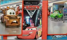 CARS 2, FULL SET OF STICKERS X216 +ALBUM